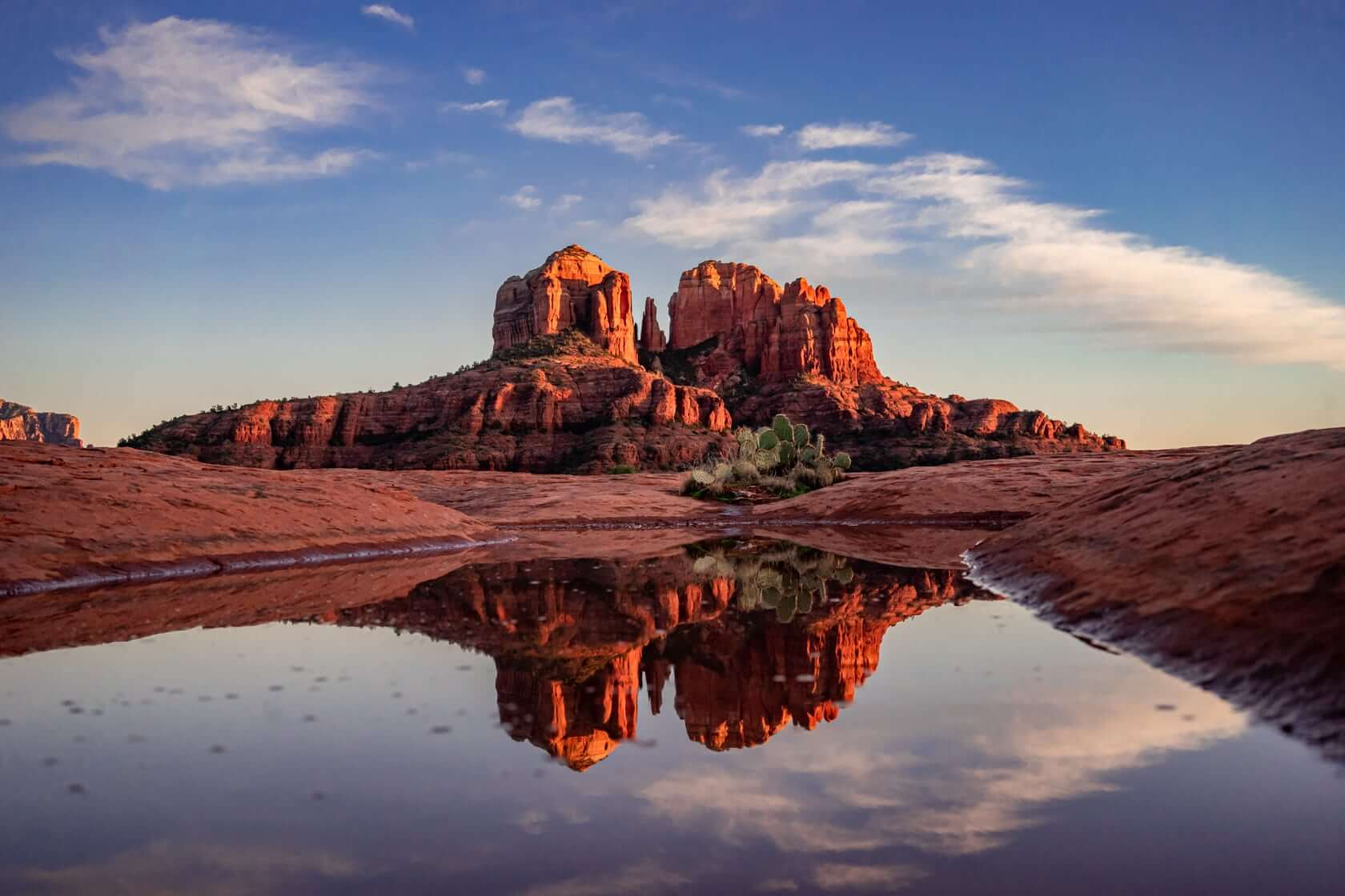 Cathedral Rock reflections